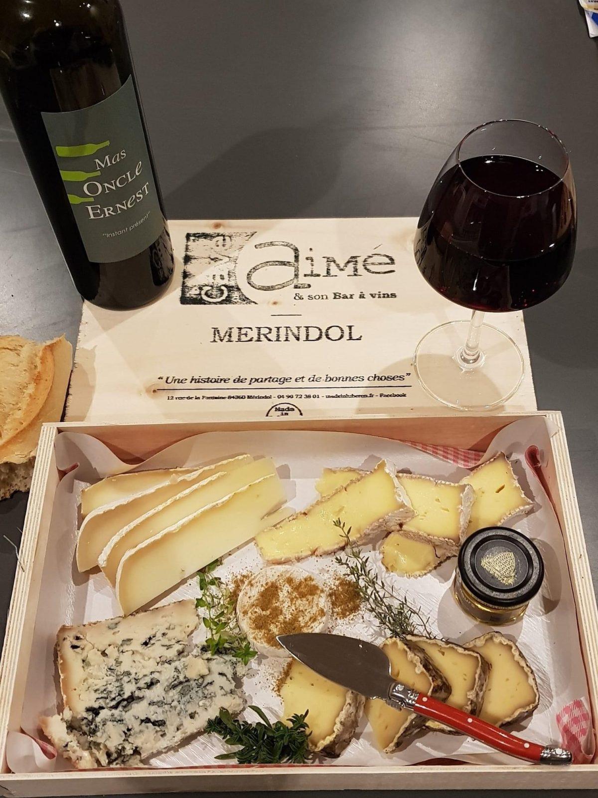 Se faire livrer un plateau de fromages dans le Vaucluse
