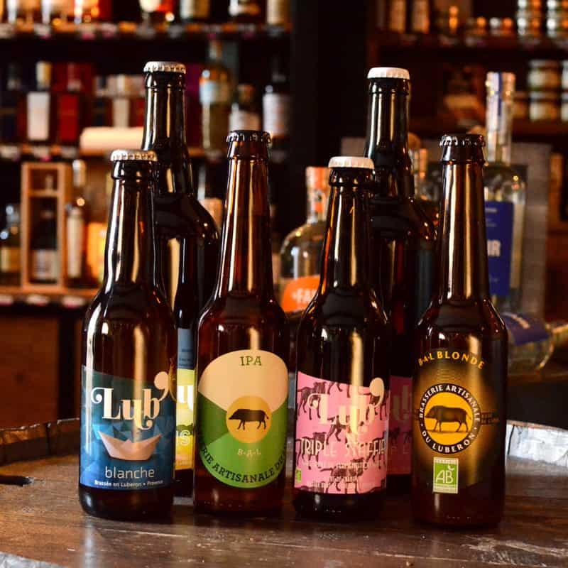 Les bières artisanales du Luberon