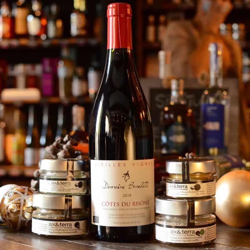 Côtes du Rhône Benedetti et la truffe noire façon Aix et Terra... un mariage parfait !