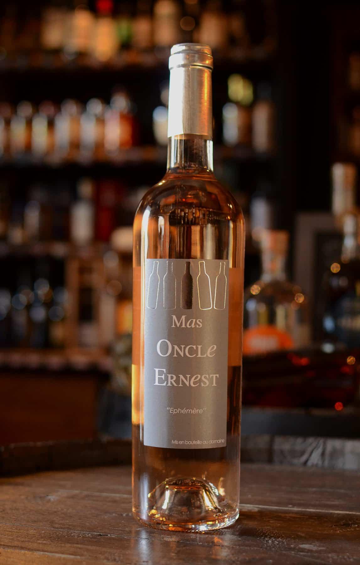 """Le rosé du Mas de l'Oncle Ernest, cuvée """"Ephémère"""""""