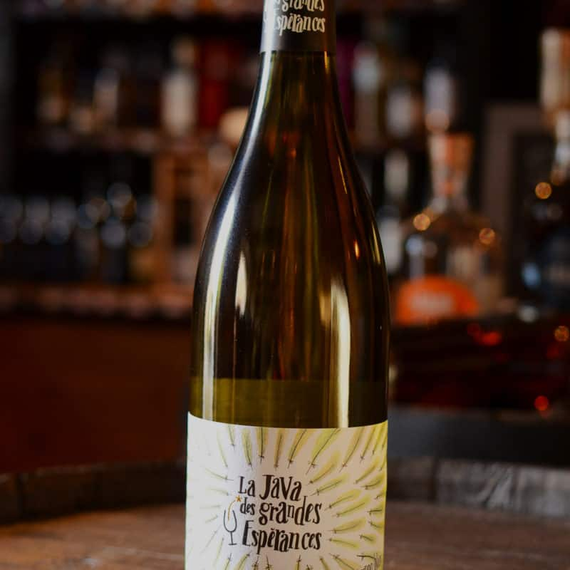 La Java des Grandes Espérances, le Sauvignon Blanc tellement flatteur !