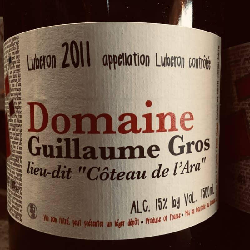 Les gros bras du Luberon, le magnum 2011 de Guillaume Gros !