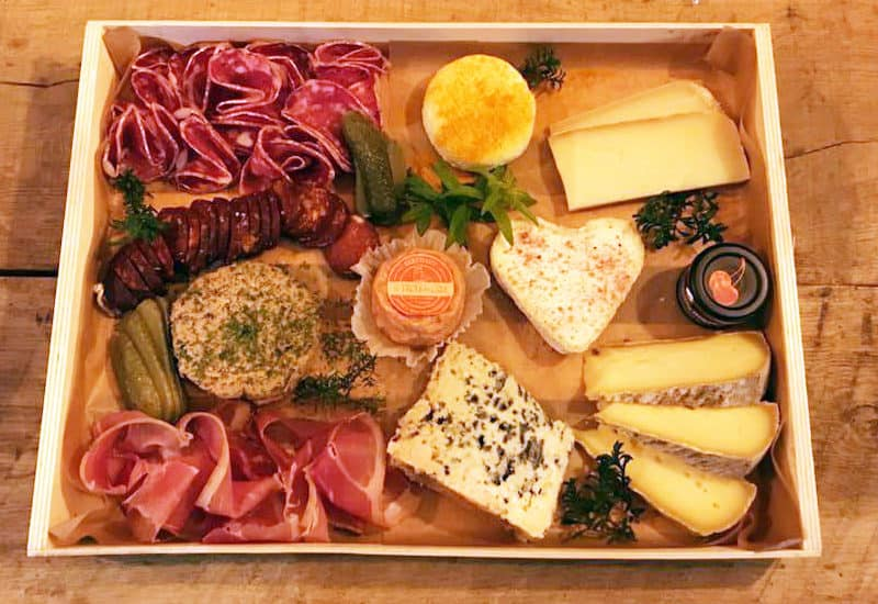 Plateaux fromage/charcuterie