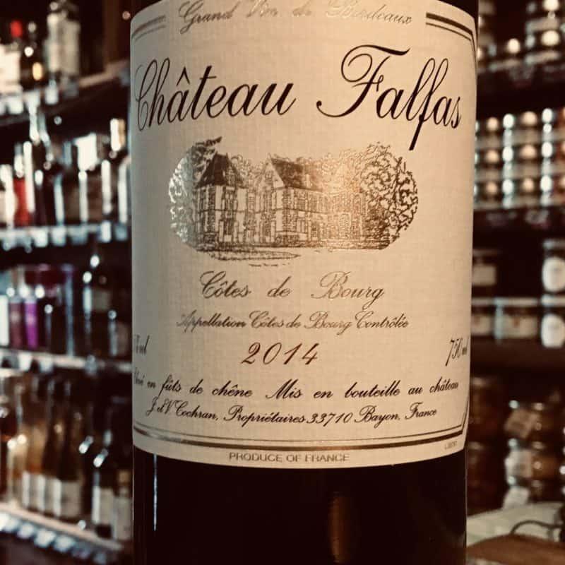 Château Falfas , un vin de légende !