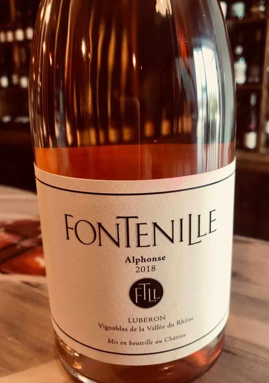 Le Rosé alphonse de Fontenille