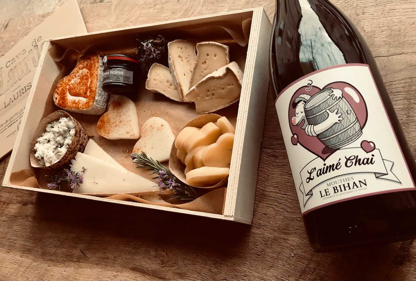Formule fromage et vin pour la Saint Valentin